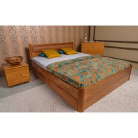 Кровать Olimp Марго с мягкой спинкой и ящиками